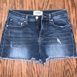 PINK Victoria Secret Jean Shorts Size 4